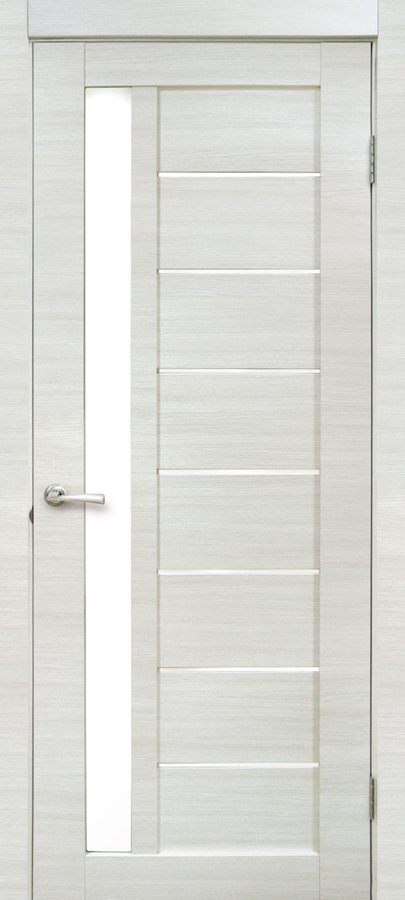 Porte Laminato da 75,90 € : Porta Battente Cortex Bianco Line con vetro