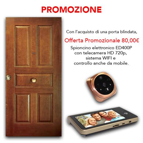 PROMOZIONI PORTE BLINDATE + SPIONCINO ELETTRONICO : Promo Porta ...