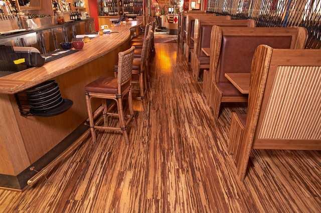 Pavimento In Bambù Caratteristiche : Fine serie bamboo massello strand woven tigre mq