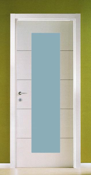 Porte Con Inserti In Alluminio : Porte laminato da  porta battente