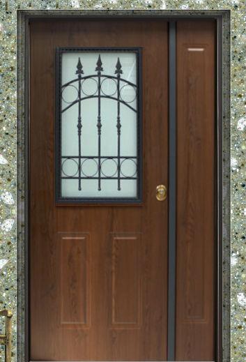 Porte blindate classe 3 da 276 porta blindata classe 3 steel con vetro per esterni doppia - Porte per esterno prezzi ...