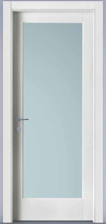 Porte laminato da 75 90 porta battente laminato - Porta con vetro ...