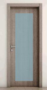 Porte Laminato da 75,90 € : Porta Scorrevole Laminato Grey con vetro