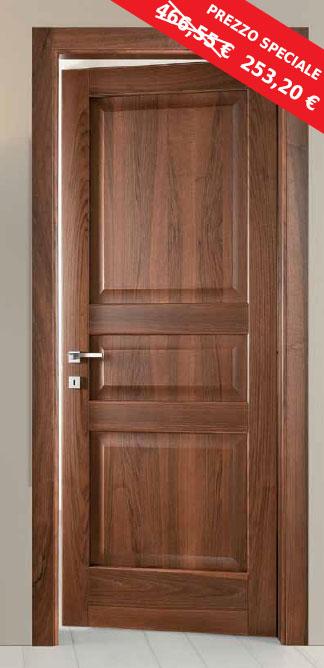 Fine Serie : Porta Decorativa Legno Massello Fiordaliso
