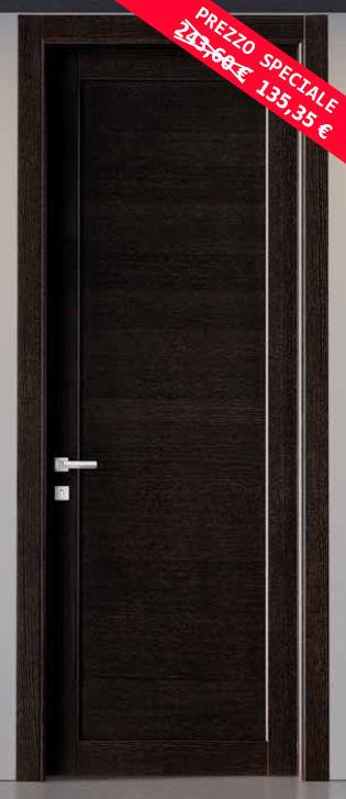 Fine serie porta legno massello genius wenge - Porta in legno massello ...