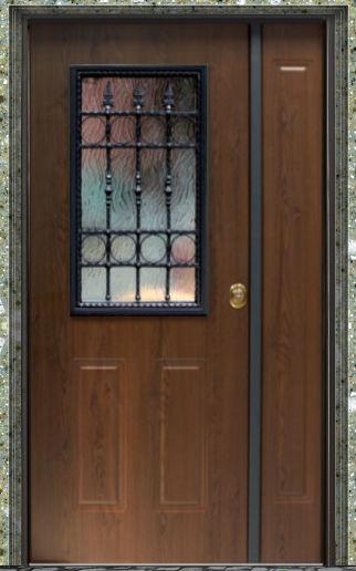 Porte blindate classe 3 da 276 porta blindata classe 3 steel con vetro per esterni doppia - Portoncini blindati da esterno con vetro ...